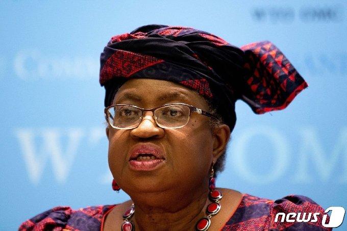 응고지 오콘조이웨알라 세계무역기구(WTO) 사무총장 <자료사진> © AFP=뉴스1