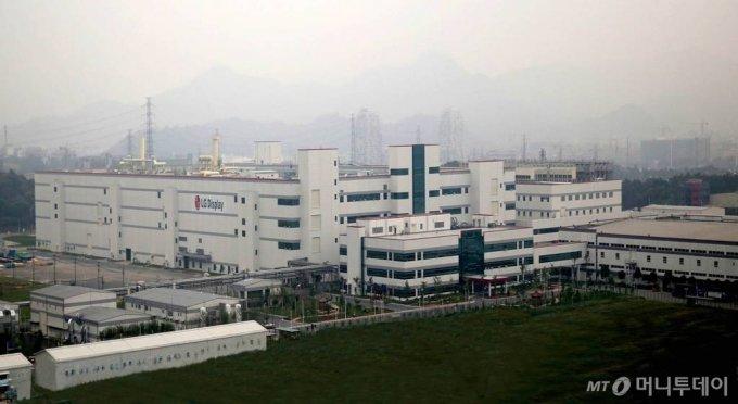 LG디스플레이 중국 광저우 공장 전경. /사진제공=LG디스플레이