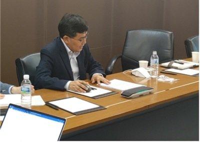 '녹색혁신의 날' 행사에서 발표를 진행 중인 경국현 플라젠 대표/사진제공=플라젠