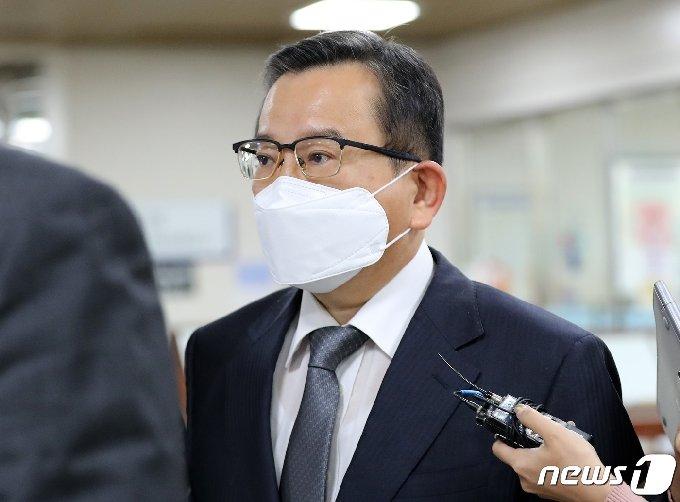 김학의 전 법무부차관 2020.10.28/뉴스1 © News1 박지혜 기자