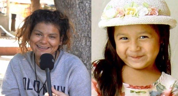 오스카 자주에타와 인터뷰한 A씨(왼쪽)와 2003년 2월 실종된 소피아 후아레즈의 당시 사진(오른쪽). /사진=페이스북 영상 캡처