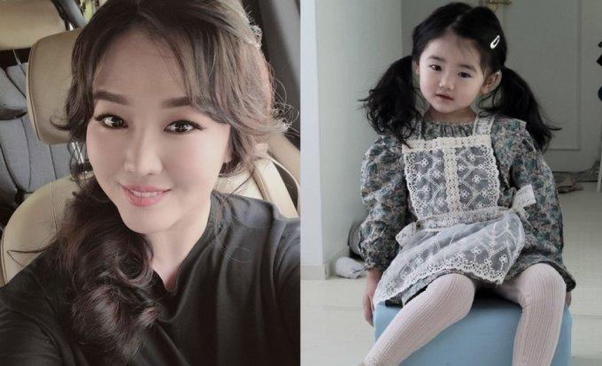 정미애(왼쪽), 정미애의 딸 / 사진=정미애 인스타그램