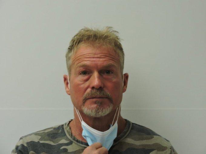 지난 5일 아내 수잔 모퓨를 살해한 혐의 등으로 긴급 체포된 베리 모퓨.  /사진=채피 카운티 보안관실 페이스북