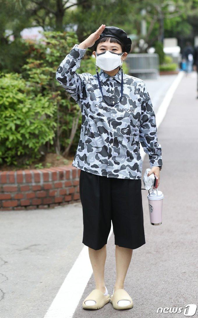 [사진] 김신영, 충성! 불후 출연을 명 받았습니다