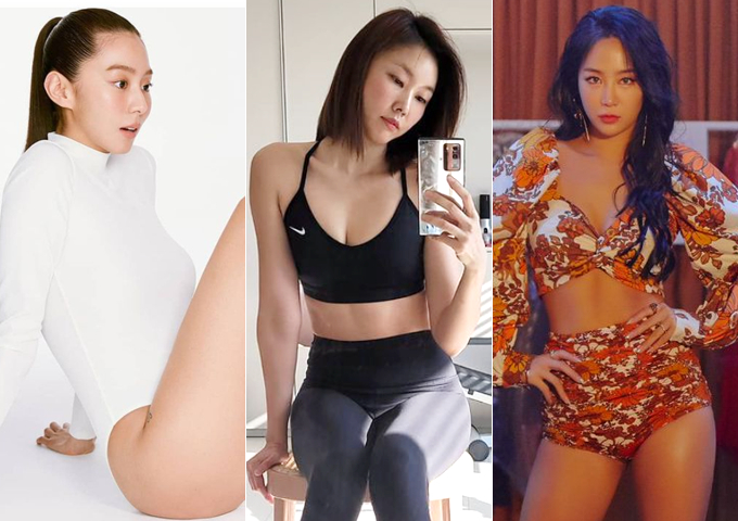 배우 유이, 모델 한혜진, 가수 소유 /사진=인스타그램