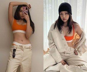 선미 vs 제니, 아찔한 속옷 패션