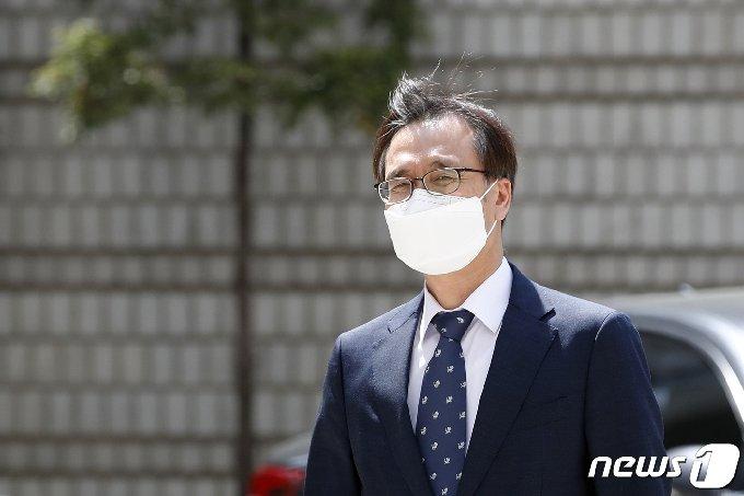 정진웅 광주지검 차장검사 2021.4.19/뉴스1 © News1 이승배 기자