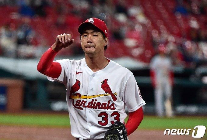 김광현은 시즌 2승에 재도전한다. © AFP=뉴스1