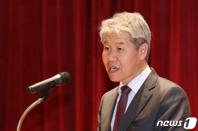 김수현 전 대통령비서실 정책실장. 2019.5.9/뉴스1