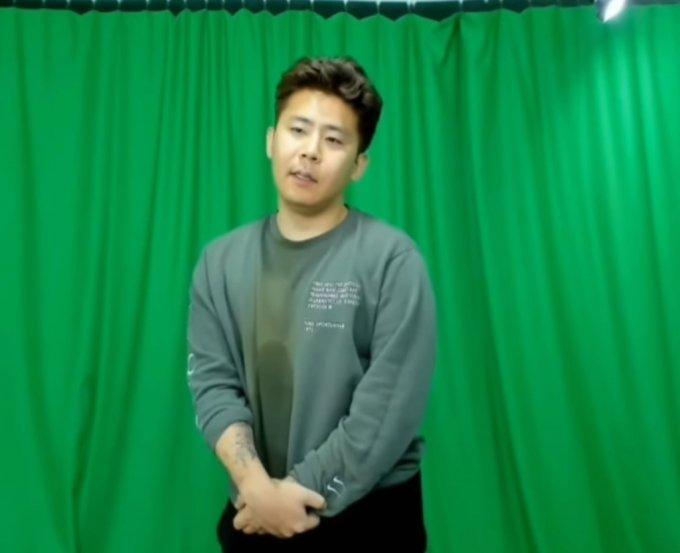 고 박지선씨를 비하하는 내용의 막말에 대해 사과하고 있는 BJ철구. / 사진 = 유튜브