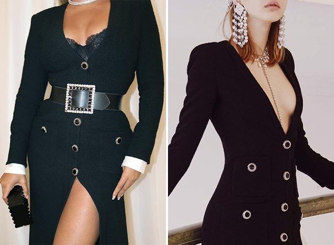 팝 가수 비욘세, 알렉산드라 리치 2019 F/W 컬렉션/사진=비욘세 인스타그램, 알렉산드라 리치(Alessandra Rich)