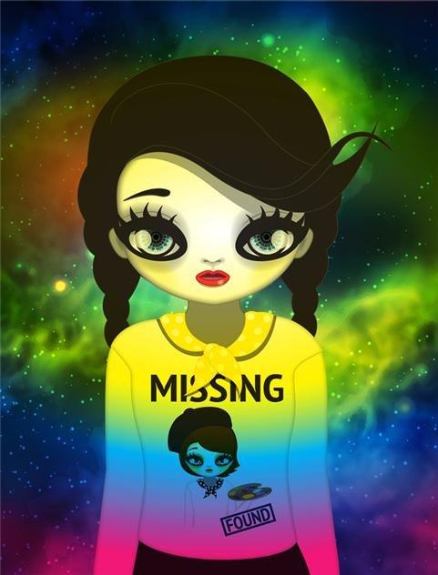 지난 3월 국내 첫 NFT 미술품 경매에서 6억원에 낙찰된 마리킴의 'Missing and found' /사진=피카프로젝트 제공