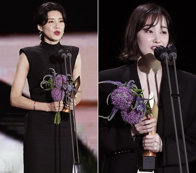 코미디언 장도연, 배우 전종서/사진제공=백상예술대상 사무국