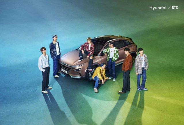 현대차-BTS '글로벌 수소 캠페인' 특별 영상. /사진제공=현대차