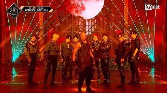 사진출처=Mnet '킹덤' 방송화면