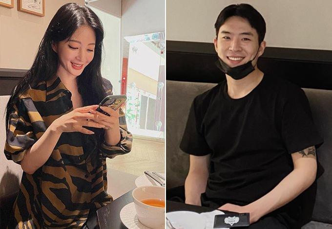 배우 한예슬, 류성재 /사진=한예슬 인스타그램