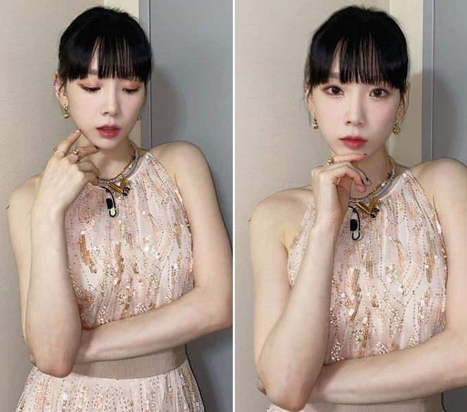 그룹 소녀시대 출신 가수 태연/사진=태연 인스타그램
