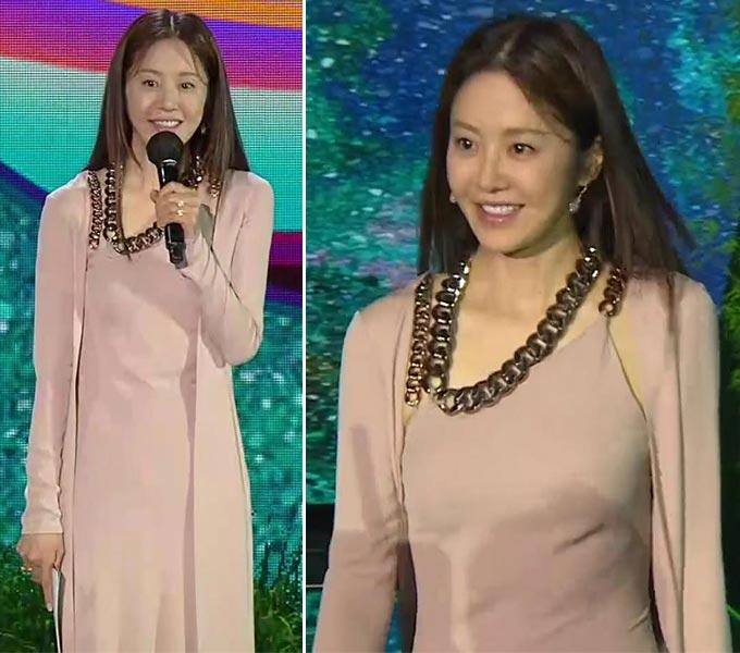배우 고현정/사진=JTBC '제57회 백상예술대상' 방송 화면 캡처