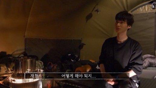 배우 안재현/사진=티빙 오리지널 '스프링 캠프' 방송 화면 캡처