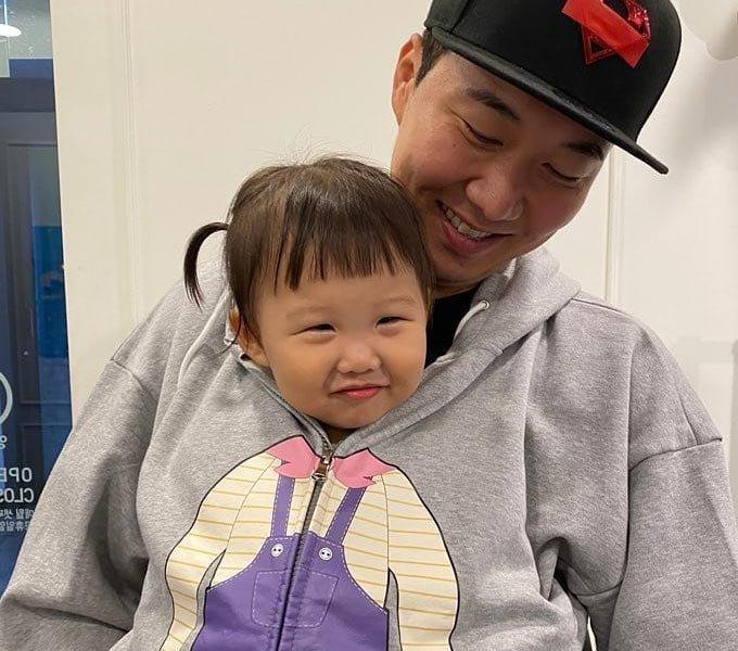 아나운서 출신 방송인 도경완과 그의 딸 하영/사진=도경완 인스타그램