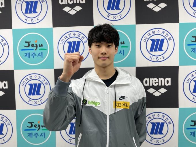 황선우, 자유형 100m 한국신기록 경신! 생애 첫 올림픽행