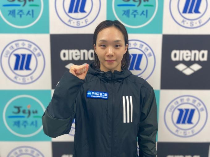 '女수영 간판' 김서영, 3연속 올림픽 진출 성공!