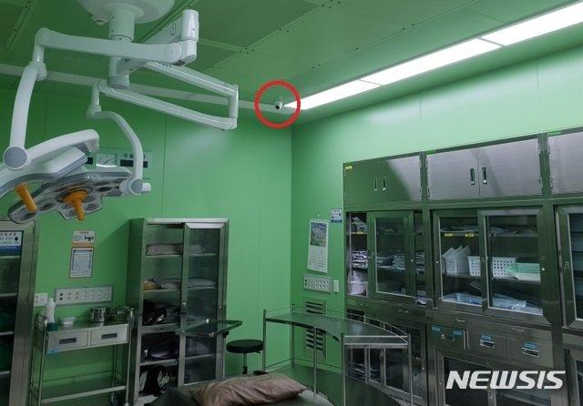 수술실 CCTV(폐쇄회로TV)가 도입된 모습. / 사진제공=뉴시스