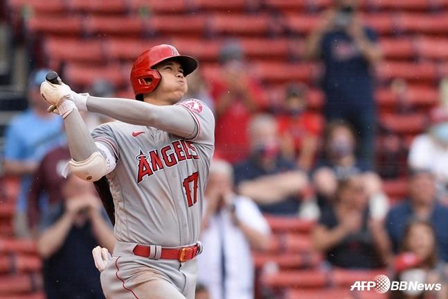'벌써 12개' 오타니, 시즌 51홈런 페이스... '홈런왕' 진짜 된다