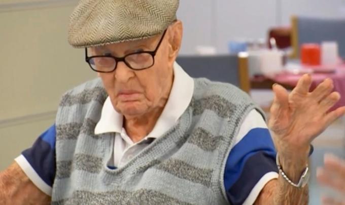 호주 111살 최고령 할아버지 장수 비결은…