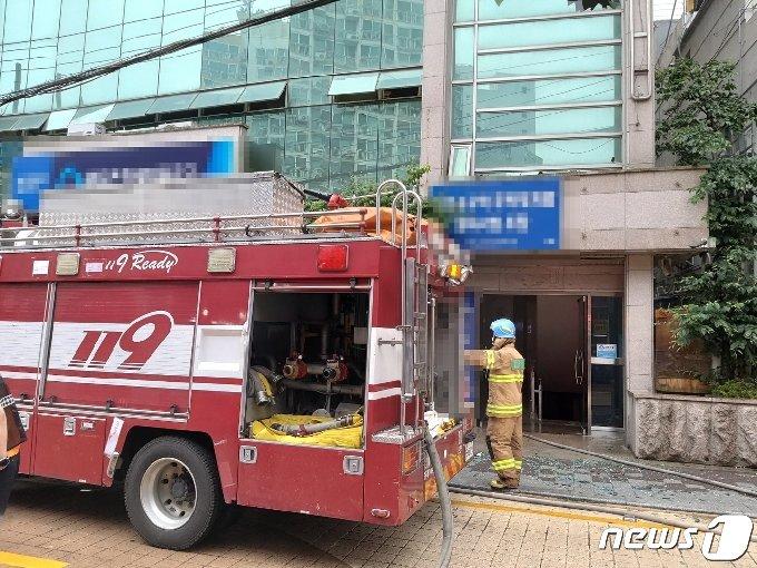 사건 현장.(부산경찰청 제공)© 뉴스1