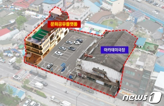 """원주시 """"국내 가장 오래된 극장 매입해 시민공간 조성"""""""