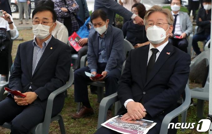 [사진] 5·18 민중항쟁 전북기념행사 참석한 이재명 도지사