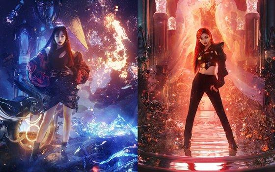 지젤(왼쪽) 닝닝, 사진제공=SM엔터테인먼트