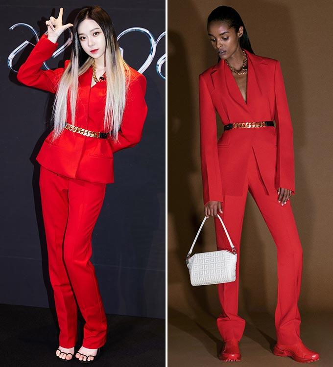 그룹 에스파 윈터, 지방시 2021 프리폴 컬렉션/사진제공=SM엔터테인먼트, 지방시(Givenchy)