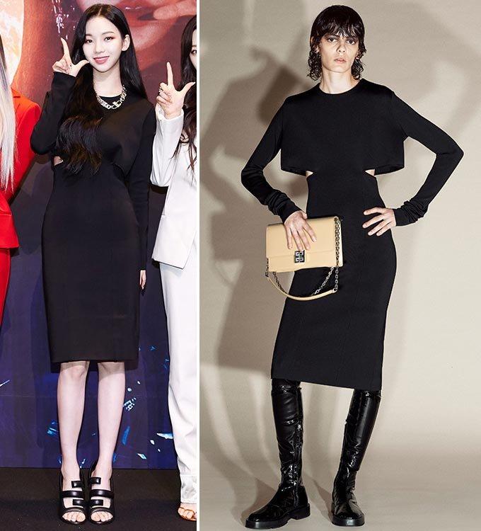 그룹 에스파 카리나, 지방시 2021 프리폴 컬렉션/사진제공=SM엔터테인먼트, 지방시(Givenchy)