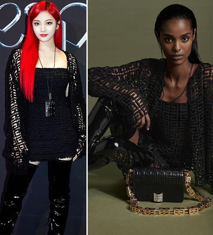 그룹 에스파 닝닝, 지방시 2021 프리폴 컬렉션/사진=SM엔터테인먼트, 지방시(Givenchy)