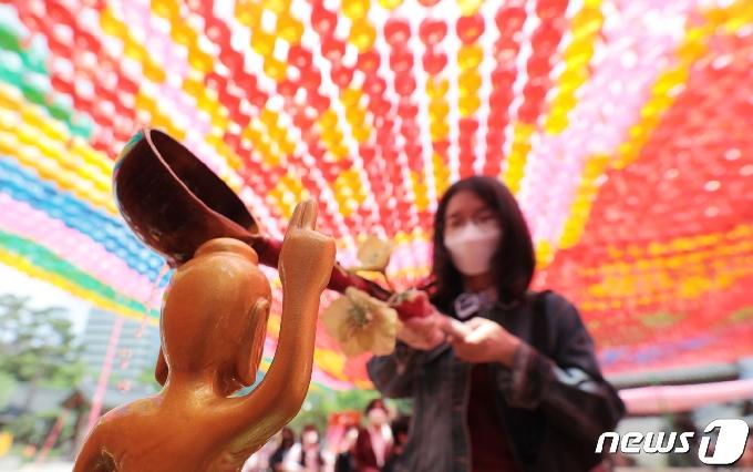 [사진] '부처님 어서오세요'