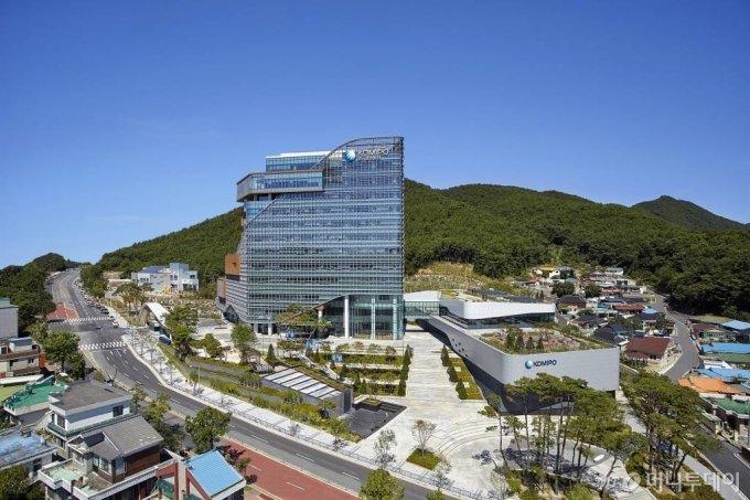 한국중부발전 보령본사 전경