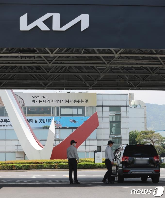 [사진] 기아 광명2공장 휴업