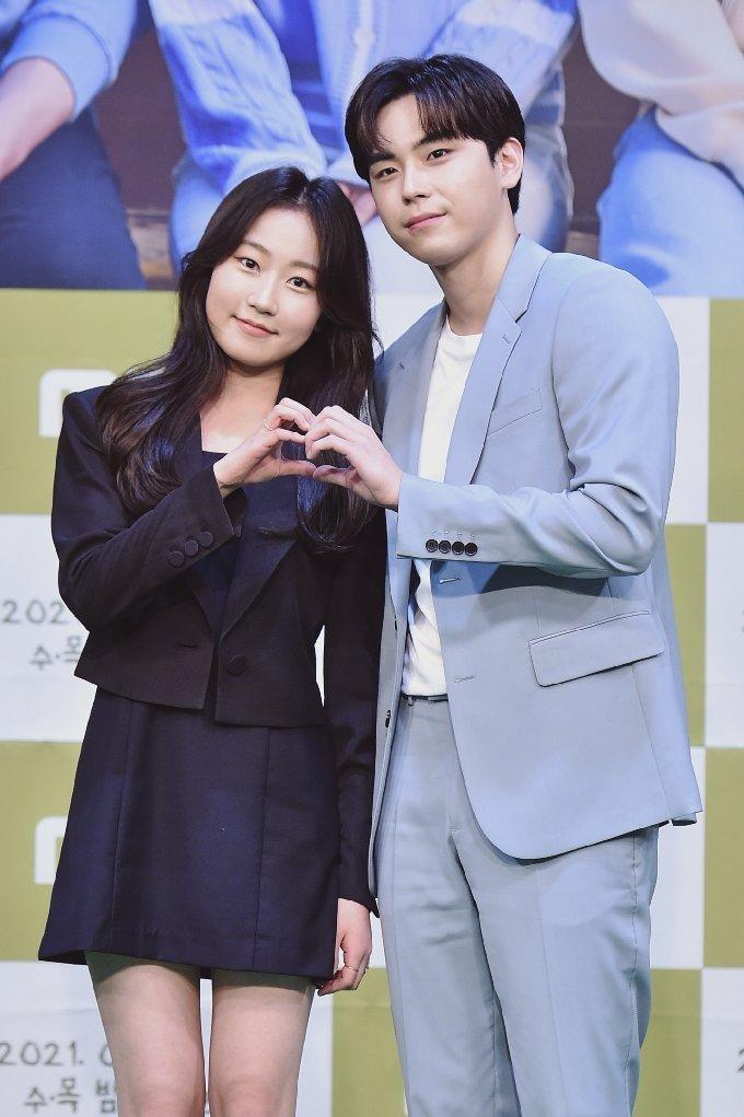 김환희(왼쪽) 김도훈/ 사진제공=MBC © 뉴스1
