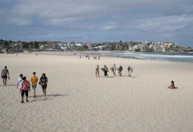 호주 해변가/사진=로이터
