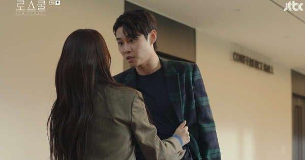 데이트폭력 장면 /사진=JTBC <로스쿨> 화면캡처
