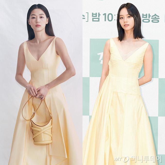 배우 전지현, 이혜리 /사진=알렉산더 맥퀸, tvN 제공