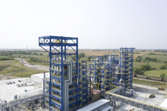 미국 네브래스카에서 가동 중인 모놀리스의 청록수소 생산설비./사진=SK(주)