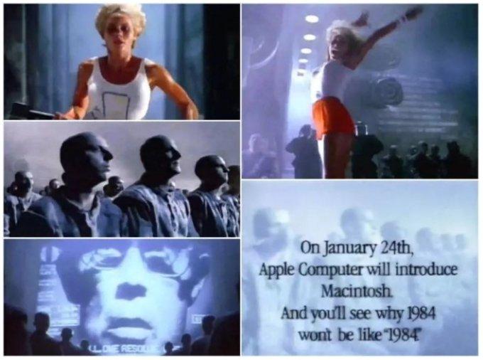 애플의 1984년 맥킨토시 광고 스틸컷/사진=애플