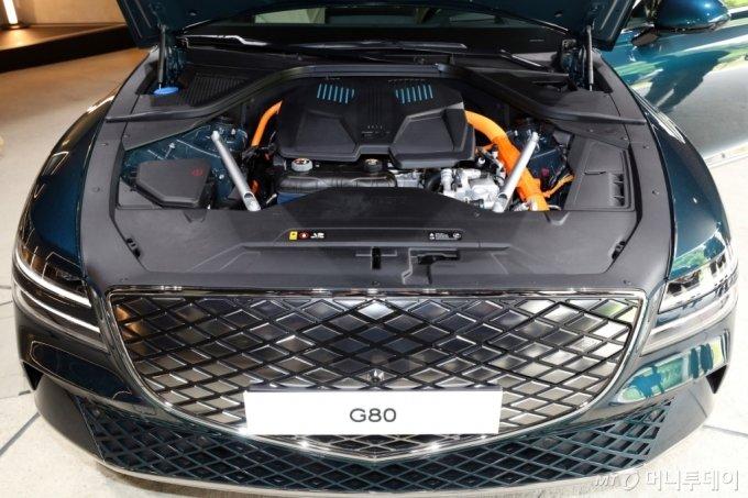 [사진]제네시스 첫 전기차 G80 전동화 모델