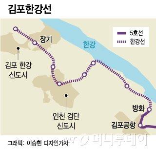'원점'으로 돌아간 5호선 '김포' 연장…4차 철도망 반영 무산?