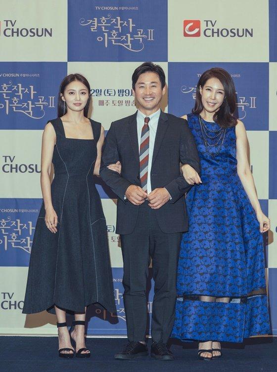 임혜영(왼쪽) 전노민 전수경, 사진제공=TV조선