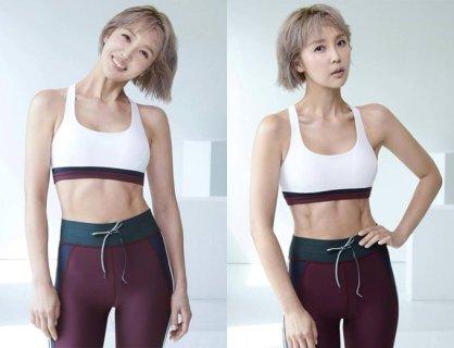 '49세' 최은경, 브라톱+레깅스 입고…선명한 복근 '감탄'