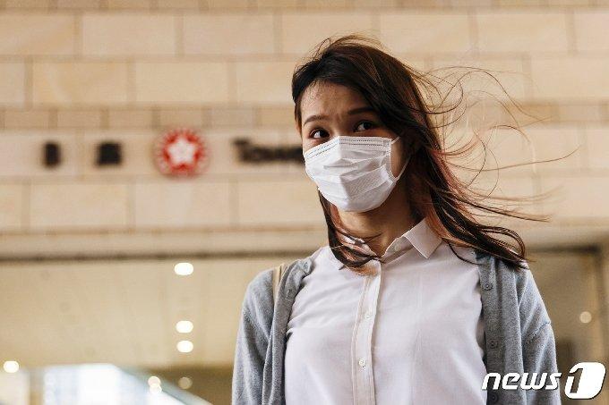 홍콩 사회활동가 아그네스 차우/로이터=뉴스1